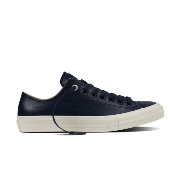 Converse Chuck II Mesh Back Leather Black