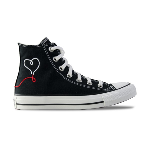 Converse Chuck Taylor All Star High Valentines Day Black