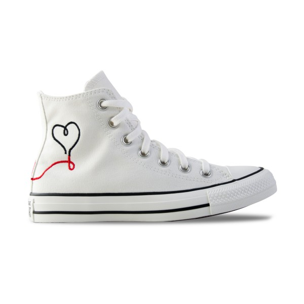 Converse Chuck Taylor All Star High Valentines Day White
