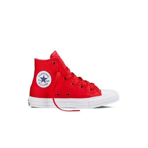 Converse All Star Chuck Taylor II Ps Boot Red - White