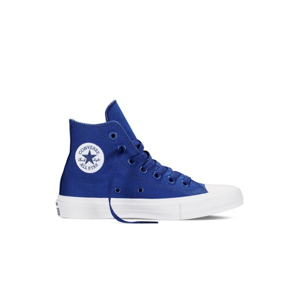 Converse All Star Chuck Taylor II Ps Boot Blue - White