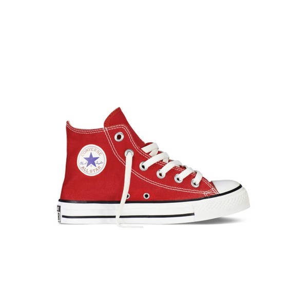 Converse All Star Chuck Taylor Ps Boot Red - White