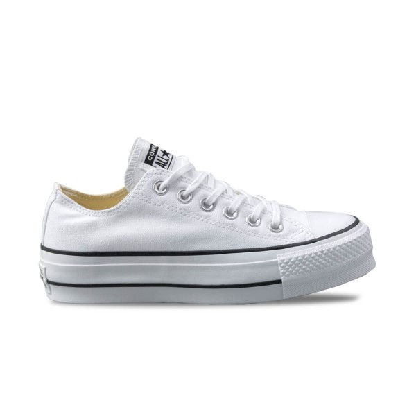 Converse All Star Chuck Taylor Platform Low White