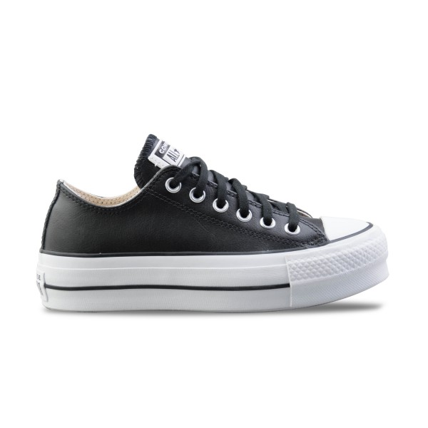 Converse Chuck Taylor All Star Lift Clean Leather Black