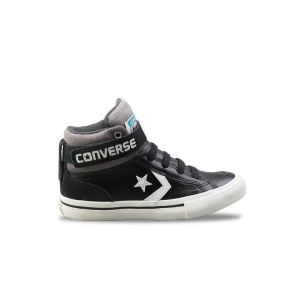 Converse Pro Blaze Strap Hi Black - White