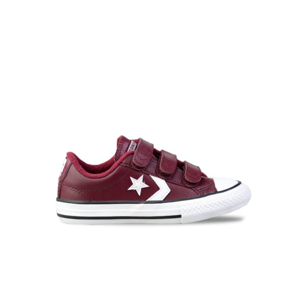 Converse One Star OX Leather Burgundy