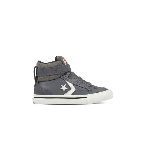 Converse Pro Blaze Strap Hi TD Grey - White
