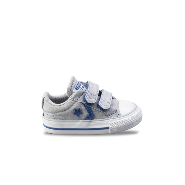 Converse Star Player 2V OX Grey - Blue