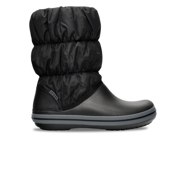 Crocs Winter Puff Boot J Black