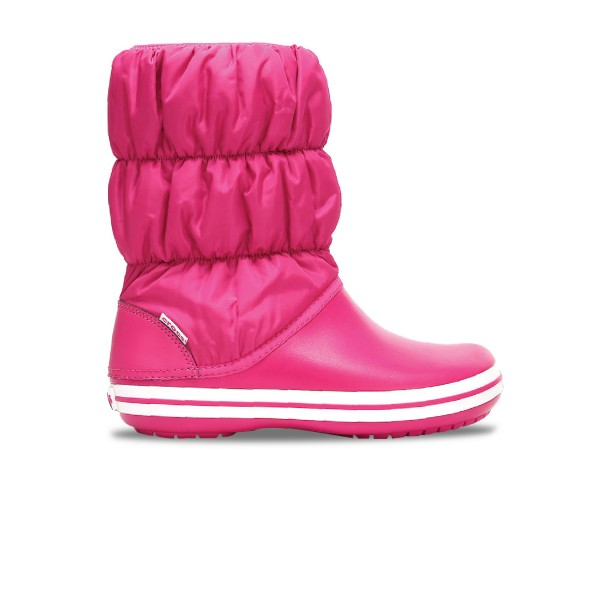 Crocs Winter Puff Boot J Pink