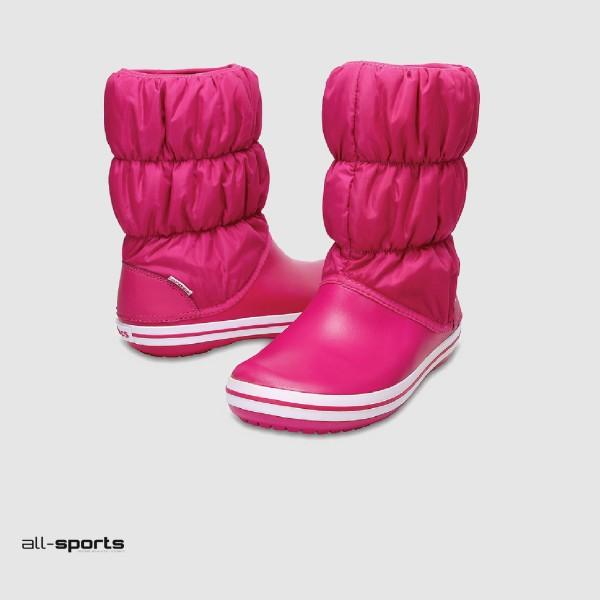 Crocs Winter Puff Boot J Pink