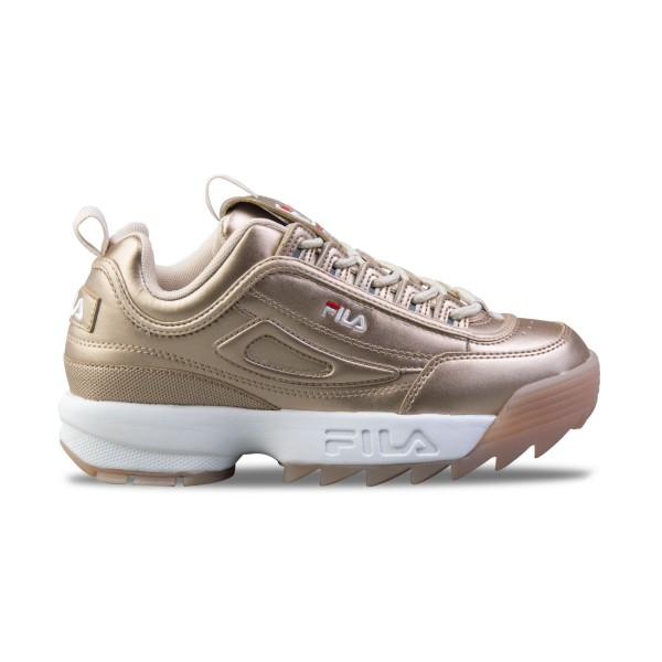 Fila Disruptor II Low Gold