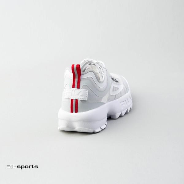 Fila Disruptor Run White