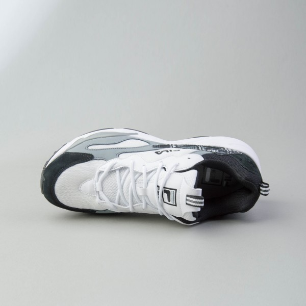 Fila Heritage Ray Tracer Trademark  White - Grey