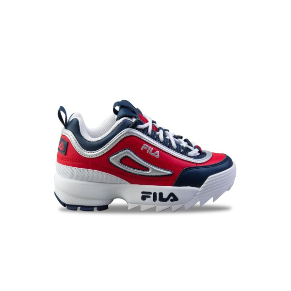 Fila Disruptor II Jr Red - Blue