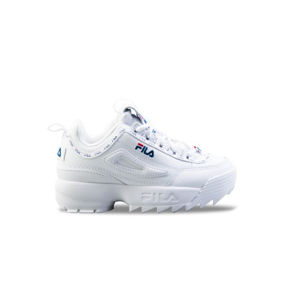 Fila Disruptor II Repeat Jr White