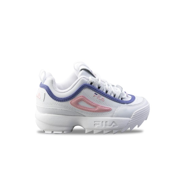 Fila Disruptor II Jr White - Purple