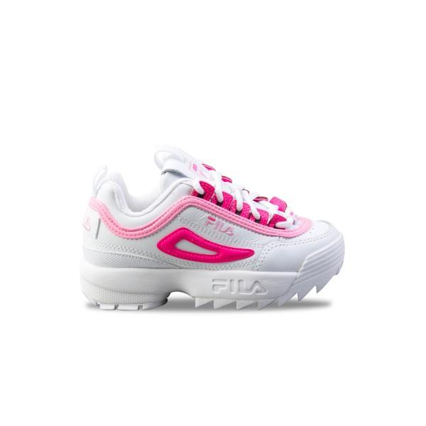 Fila Disruptor II Jr White - Pink