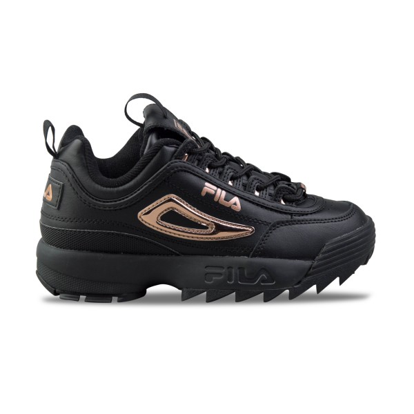 Fila Disruptor II Metallic Accent Black