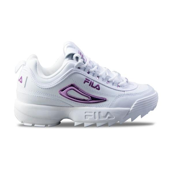 Fila Disruptor II Metallic Accent White - Purple