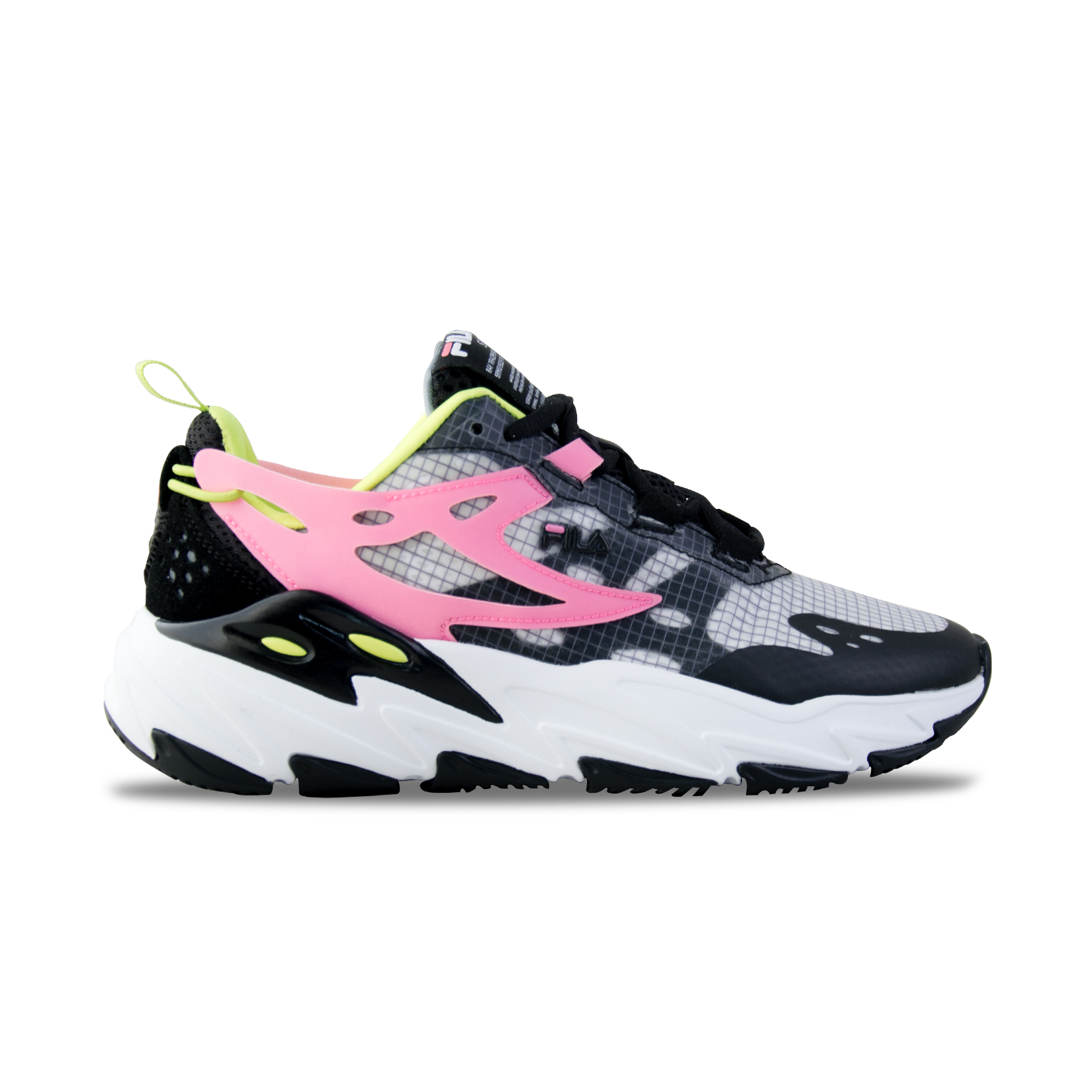Fila Ray Tracer Suede Black - Pink