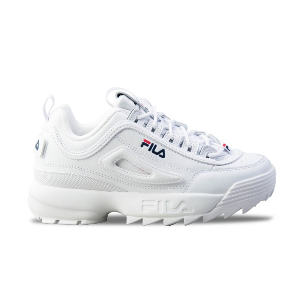 Fila Disruptor II Logo Reveal White