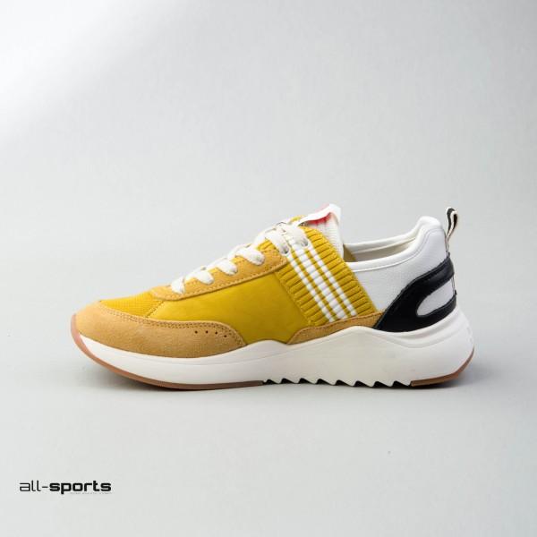 Franklin Marshall Alpha Team Yellow - White