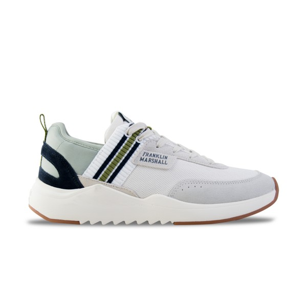Franklin & Marshall Alpha Recycled White