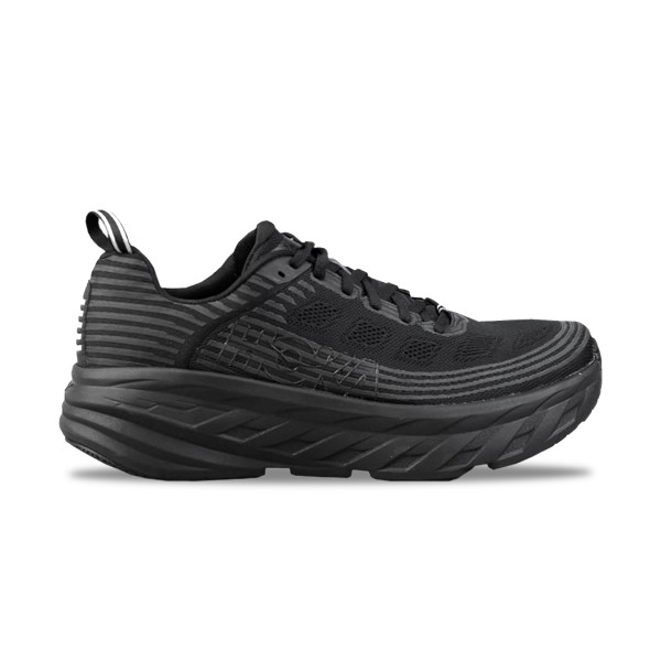 Hoka One One Bondi 6 Wide Black