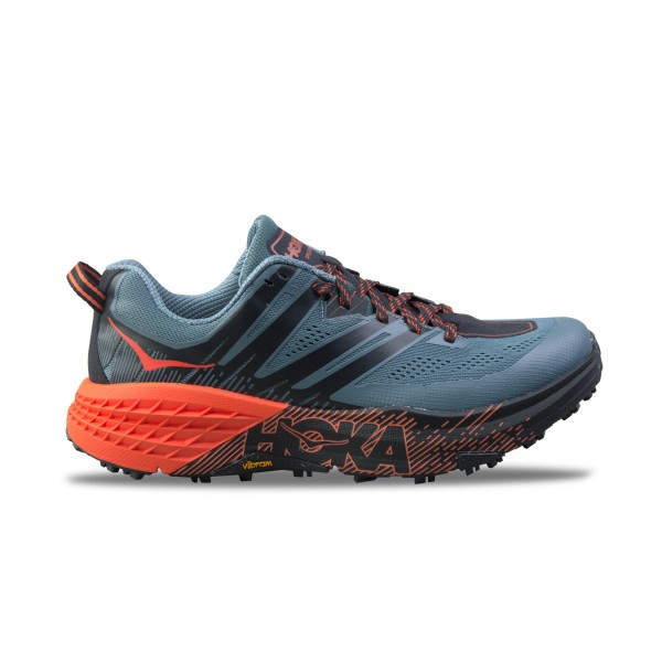 Hoka One One Speedgoat 3 Grey - Orange
