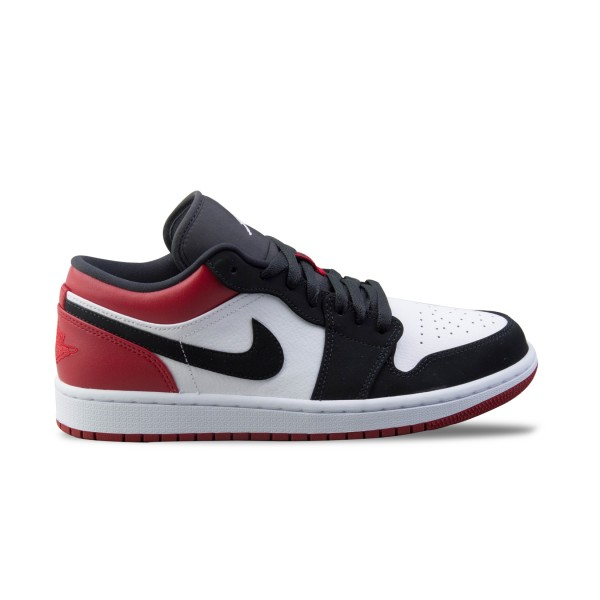 Jordan Air 1 Low  Black - Red - White