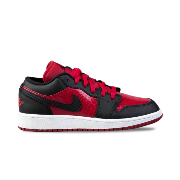 Jordan Air 1 Low Red - Black