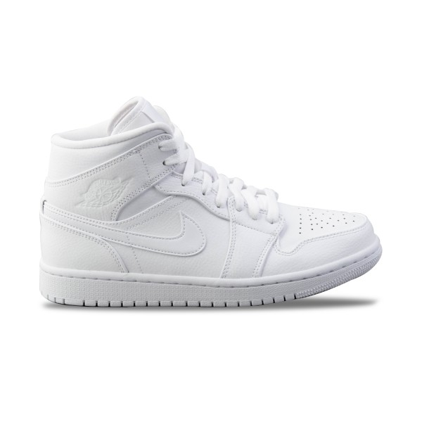 Jordan 1 Air Mid White