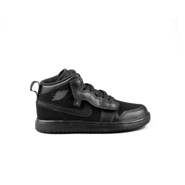 Jordan Air Air 1 Mid  Black