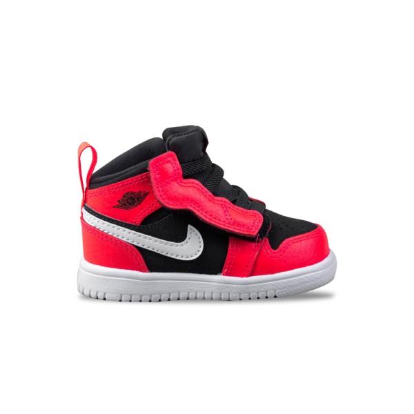 Jordan 1 Mid Black - Infrared