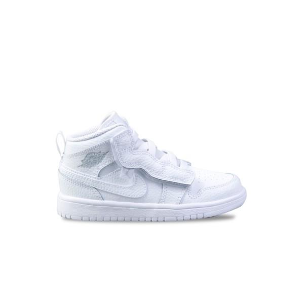 Jordan 1 Mid White