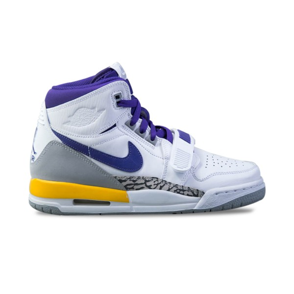 Jordan Air Legacy 312 Lakers White - Purple - Yellow