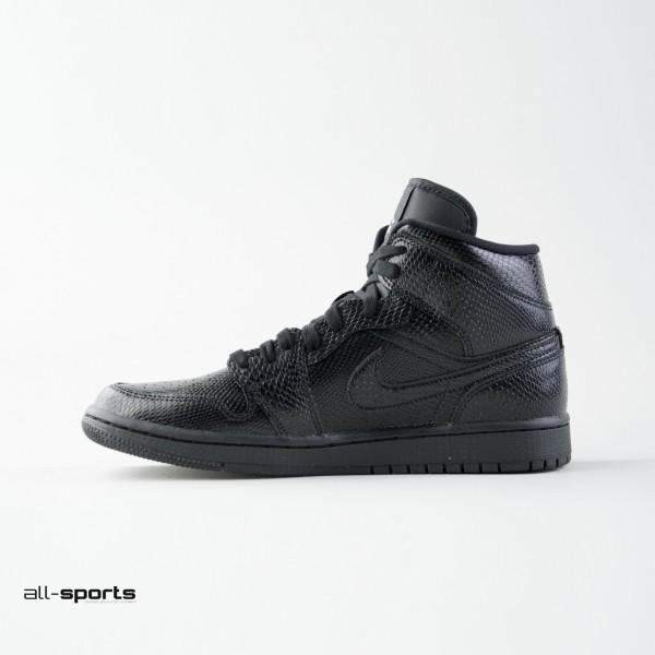 Jordan Air 1 Mid W Black