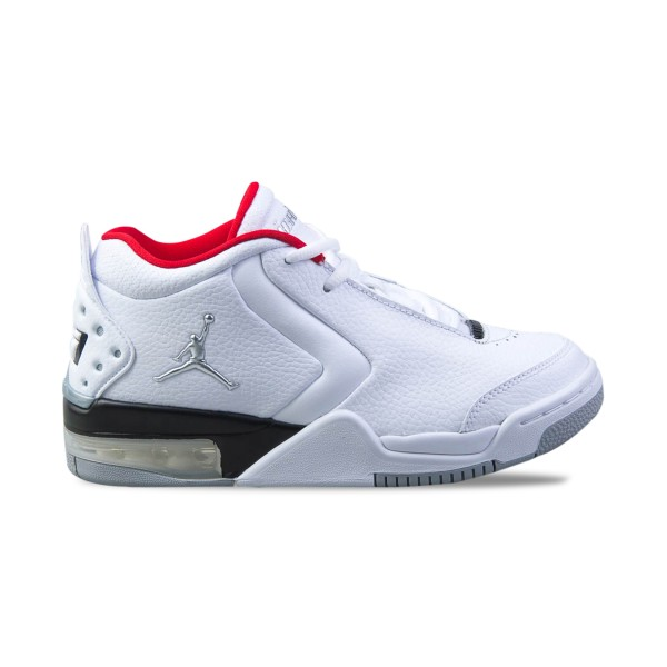 Jordan Big Fund White - Silver