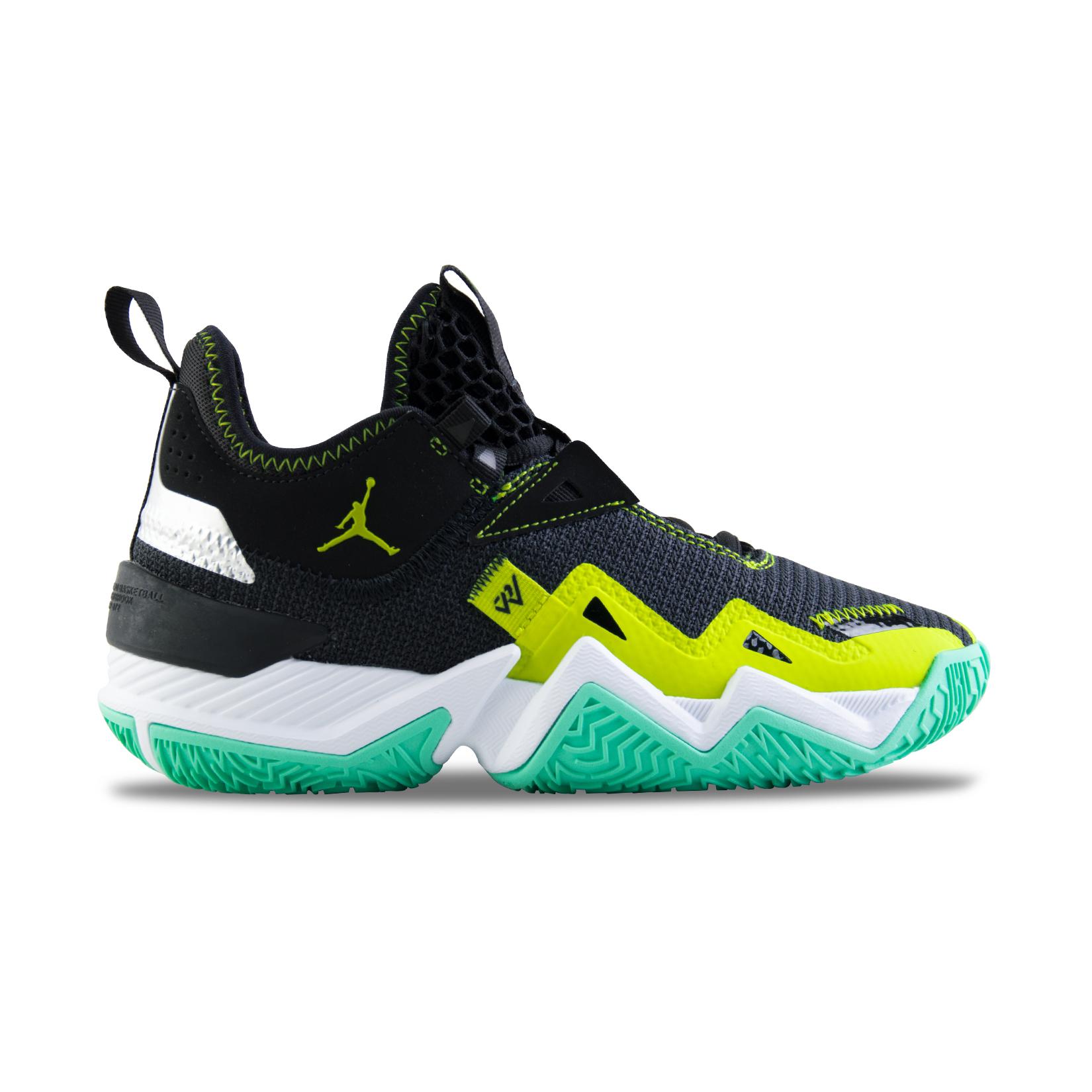 Jordan Westbrook One Take Gs Black - Green