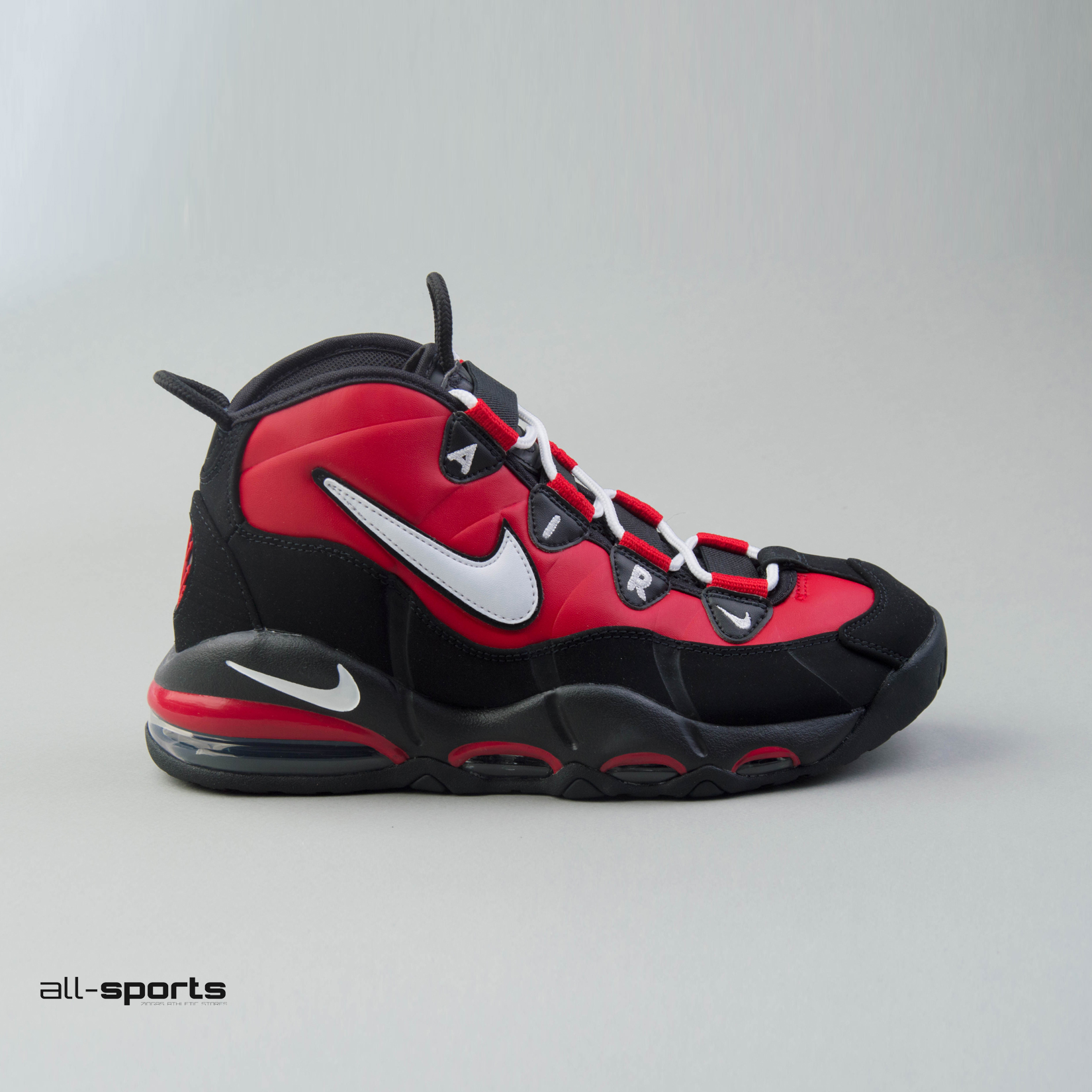 new arrival b91ae 92baa Men's Shoes Nike Air Max Uptempo 95 Bulls Away Black / White ...