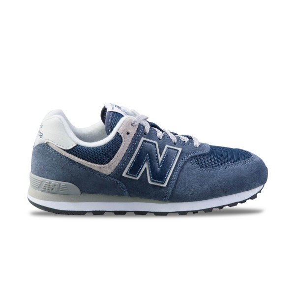 New Balance 574 J Blue - Grey