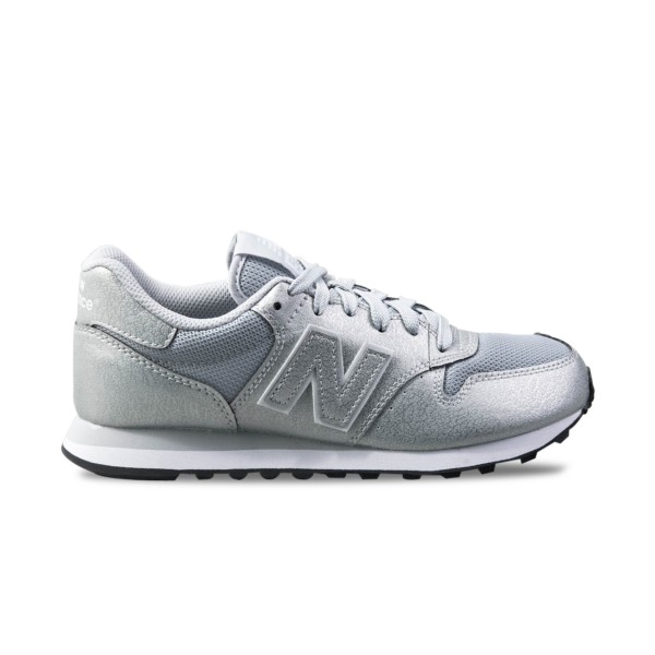 New Balance 500 Classics Leather Silver