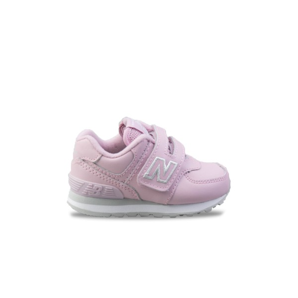 New Balance 574 Leather Pink