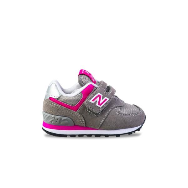 New Balance 574 Grey - Pink