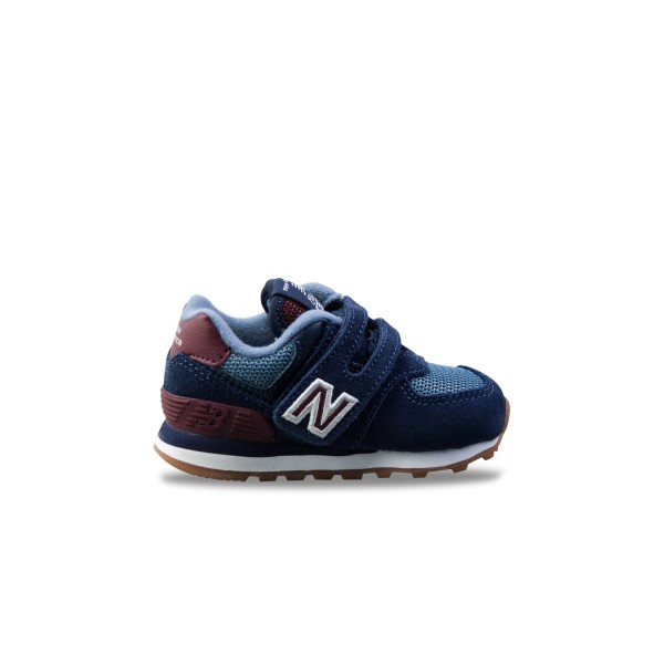 New Balance 574 I Blue - Burgundy