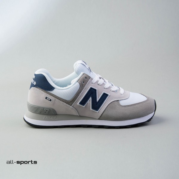 New Balance 574 Classics Grey - Blue