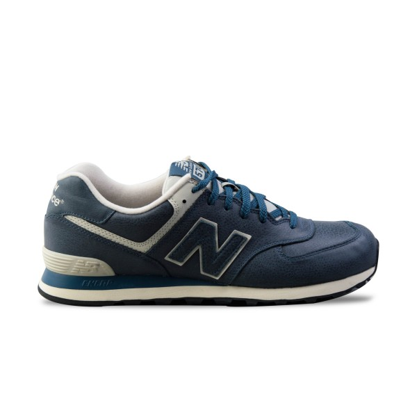 New Balance 574 Blue Leather