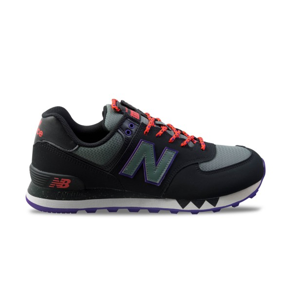 New Balance 574 Black - Grey