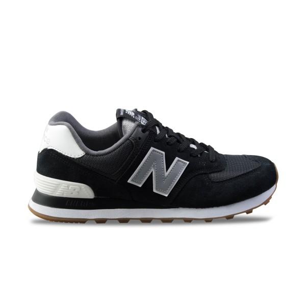 New Balance 574 Classics Black - Gum